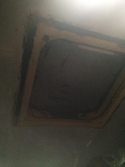 バスの天井